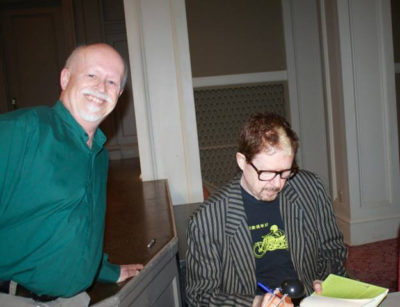 Photobombing Tom Robbins